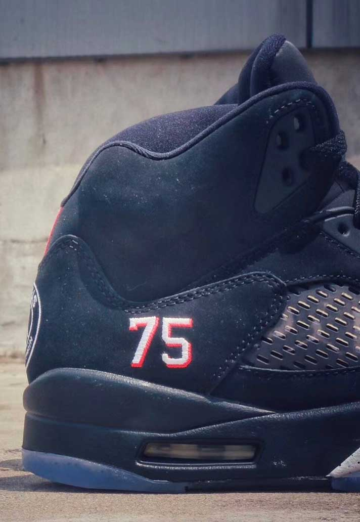 free shipping 02ec5 3d711 Paris Saint-Germain x Air Jordan 5 Edition Revealed ...