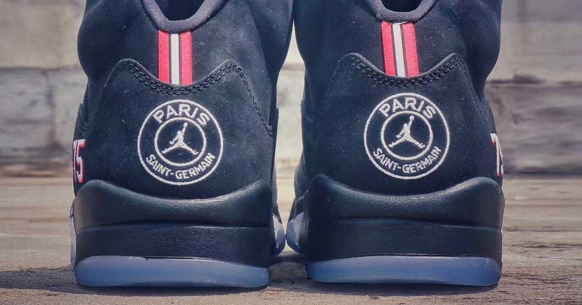 Sale Paris Saint Germain x Air Jordan 5 Edition Revealed