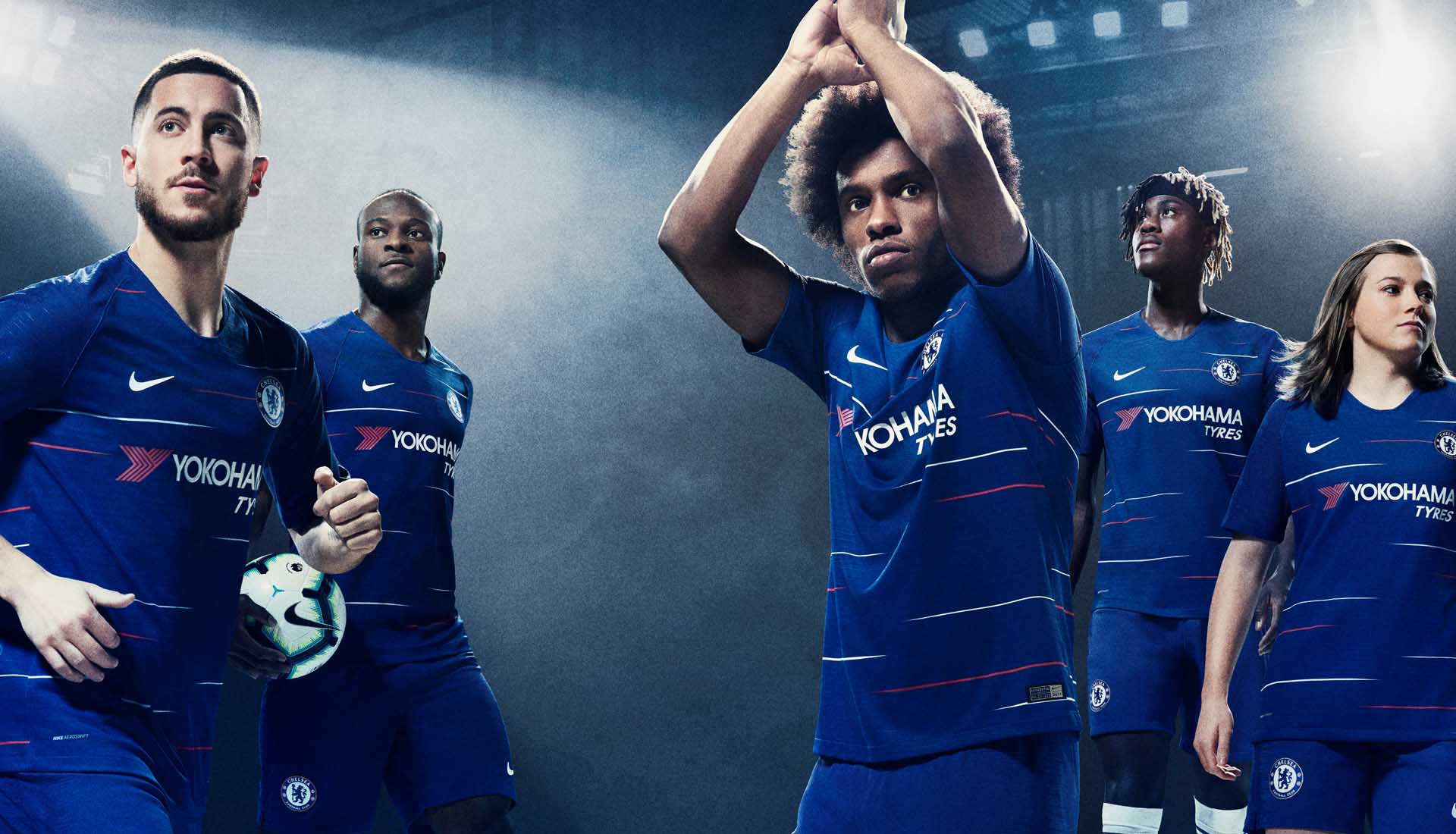 01da01eed48 Nike Launch The Chelsea 2018 19 Home Shirt - SoccerBible