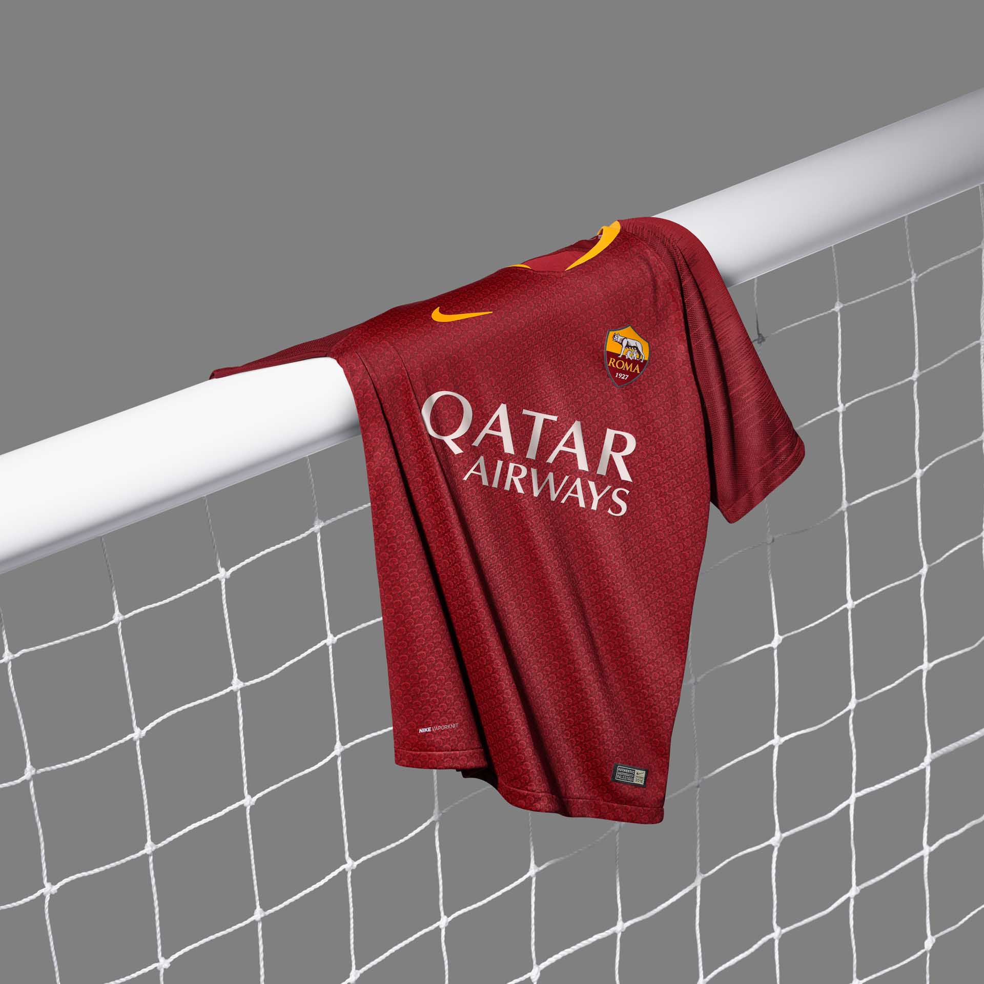 e0a294320 Nike Launch The Roma 2018 19 Home Shirt - SoccerBible