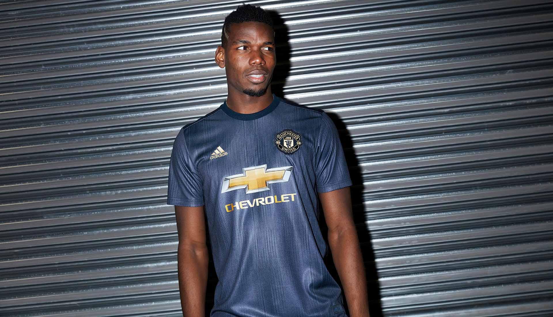 14a2f36970e adidas & Parley Launch Man United 2018/19 Third Shirt - SoccerBible