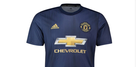 6d8908a5a15 adidas   Parley Launch Man United 2018 19 Third Shirt - SoccerBible