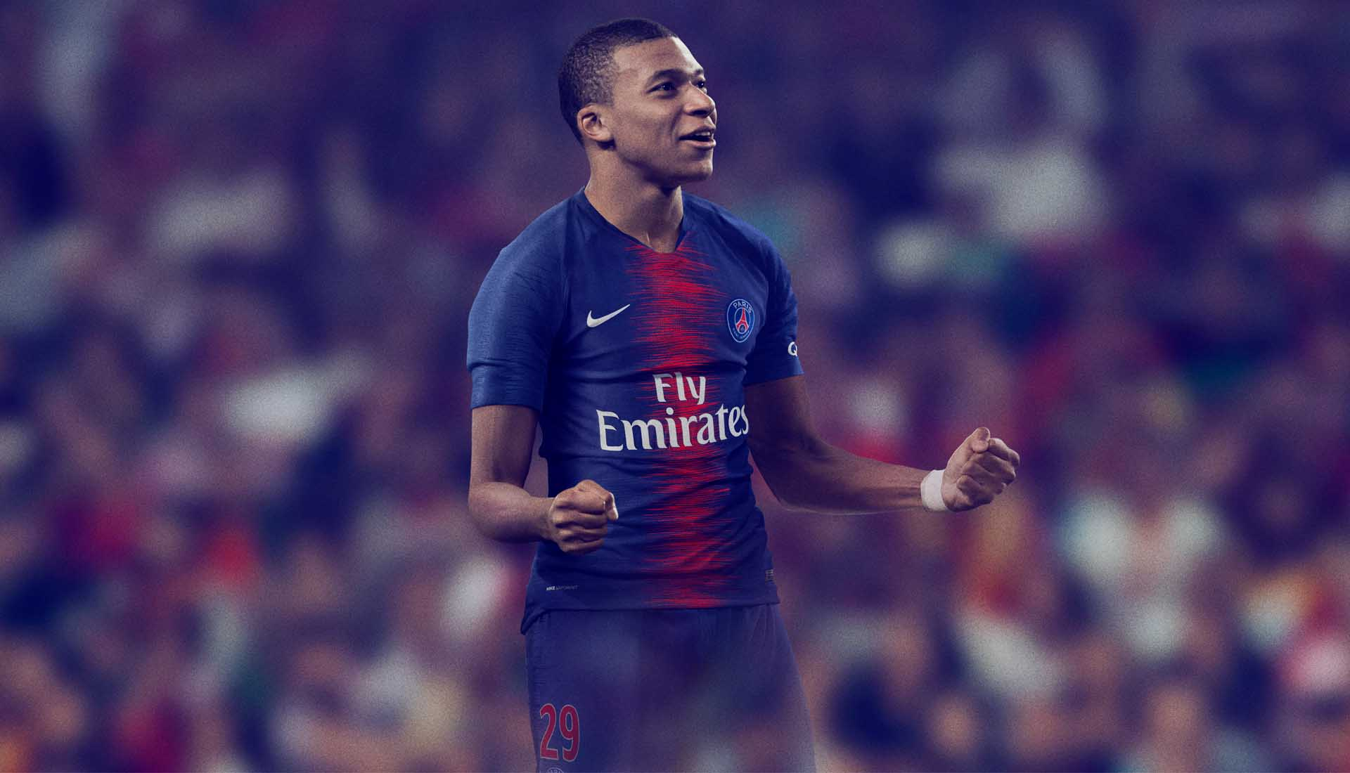 check out ab038 dd278 Nike Launch The PSG 2018/19 Home Shirt - SoccerBible