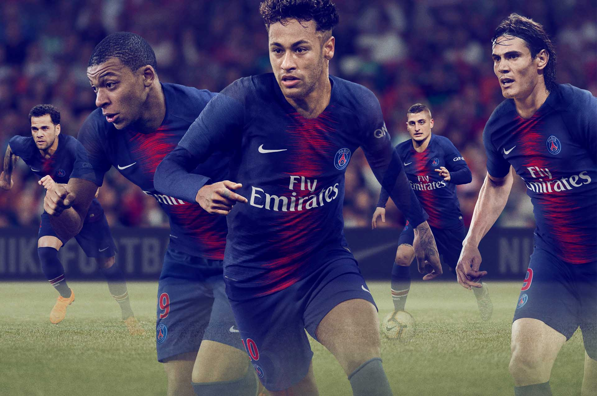 c481d9122 Nike Launch The PSG 2018 19 Home Shirt - SoccerBible