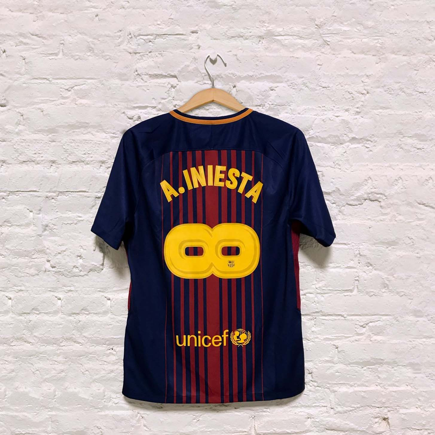 08ab4897fbd Nike Release Special Edition Iniesta Barca Shirt - SoccerBible
