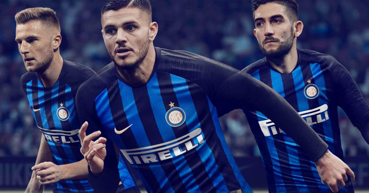 Nike Launch Inter Milan 2018 19 Home Shirt SoccerBible