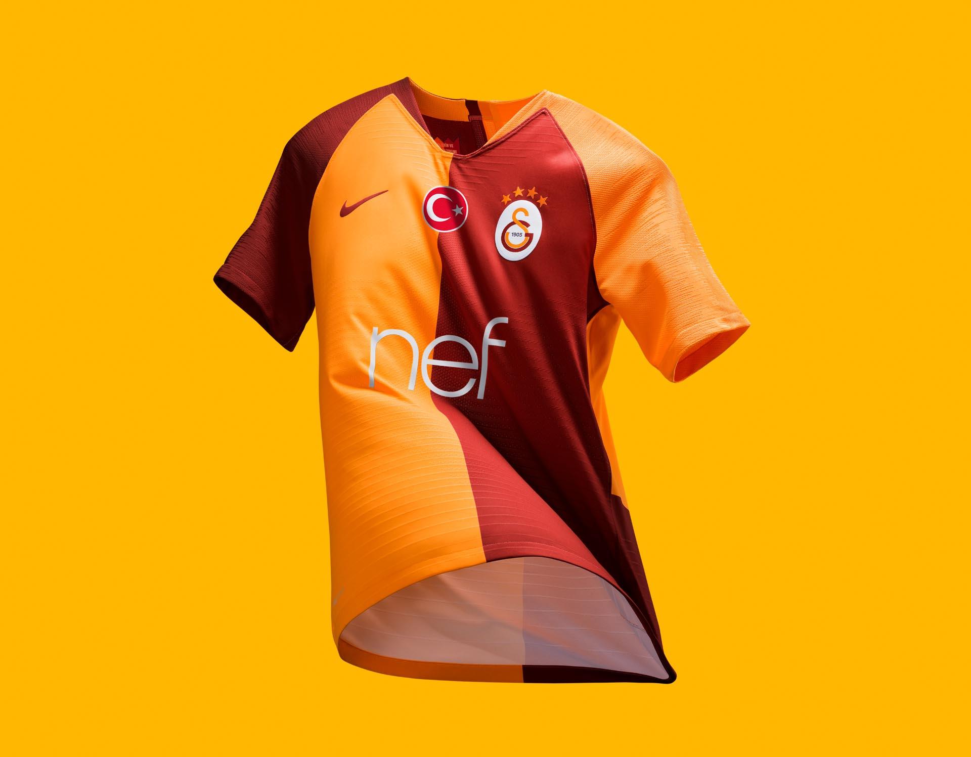 pretty nice f84f8 f79fc Nike Launch Galatasaray 2018/19 Home Shirt - SoccerBible