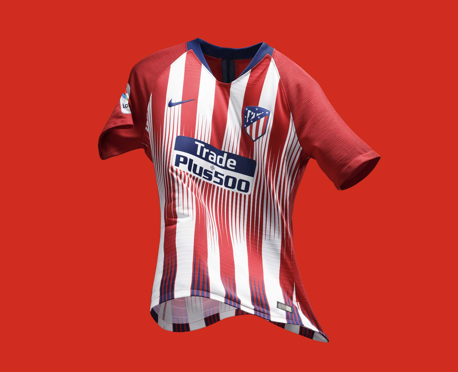 Nike Launch Atletico Madrid 2018 19 Home Shirt Soccerbible