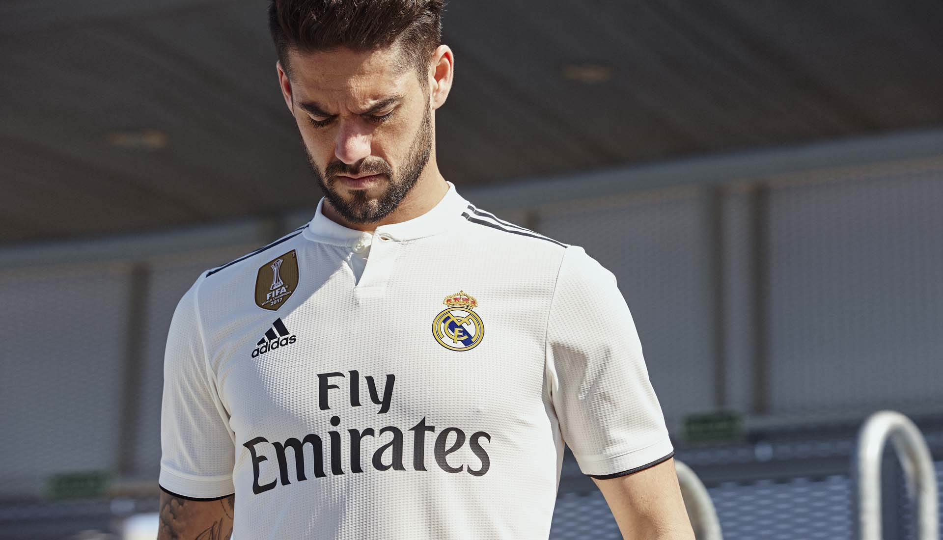 222c8f574 adidas Launch Real Madrid 2018 19 Home   Away Shirts - SoccerBible
