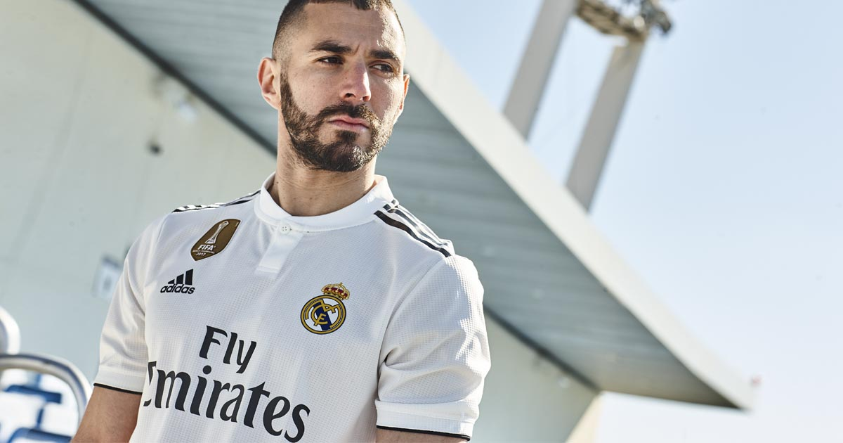 43846f08c7f adidas Launch Real Madrid 2018 19 Home   Away Shirts - SoccerBible.