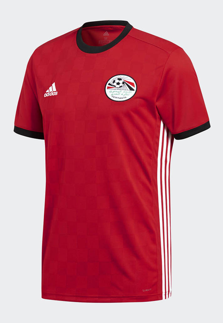fd69a302819 That s probably the best way to describe the Egypt home and away shirts by  adidas. There s a subtle print across the home shirt that ll look even  better for ...