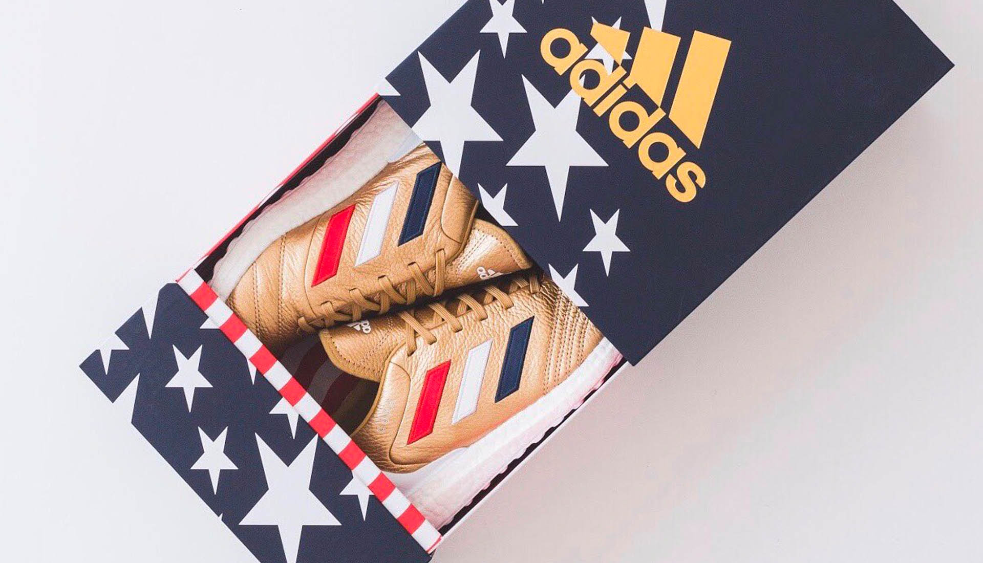 factory authentic 62e35 27378 Ronnie Fieg Teases KITH x adidas Football World Cup Collection