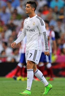 Cristiano Ronaldo Green Boots