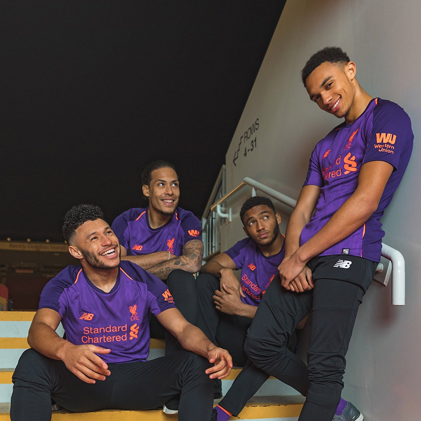 184d346b New Balance Launch Liverpool 2018/19 Away Kit - SoccerBible