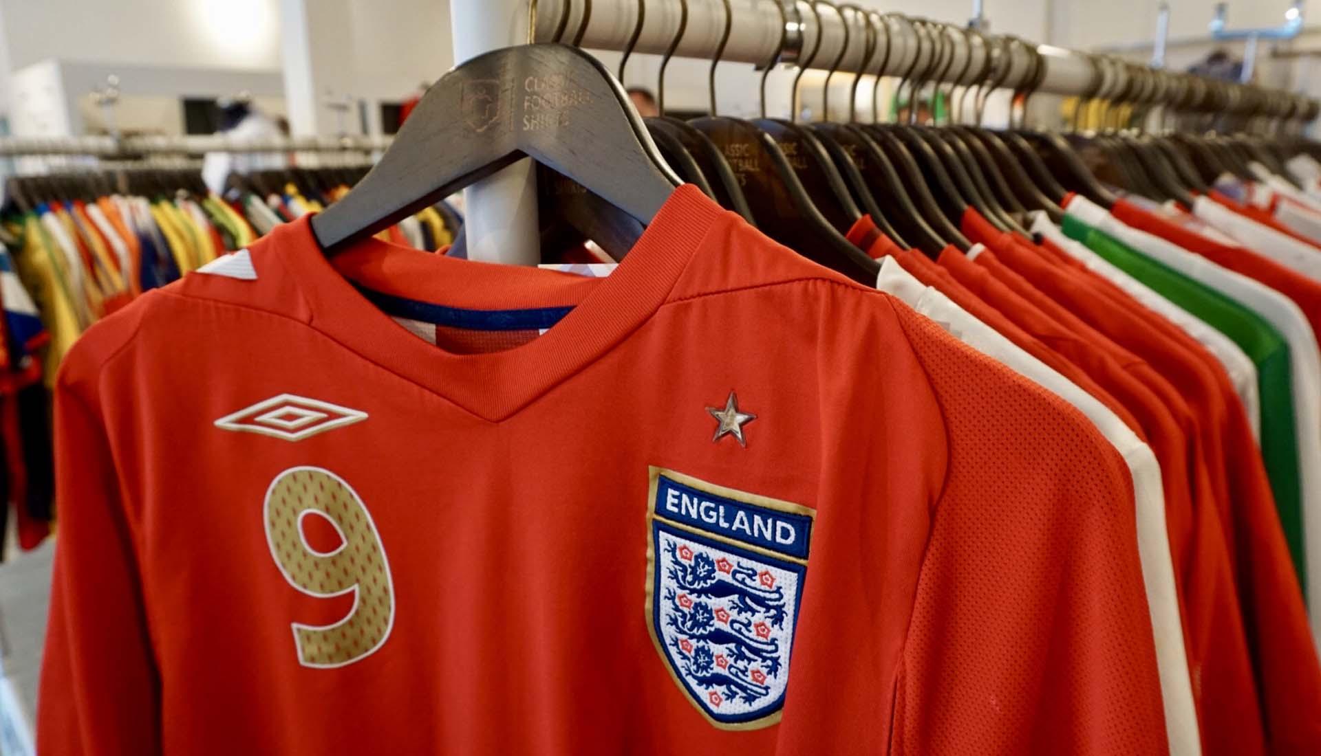 f9bdea6cefc Classic Football Shirts Open World Cup Pop-Up Store - SoccerBible