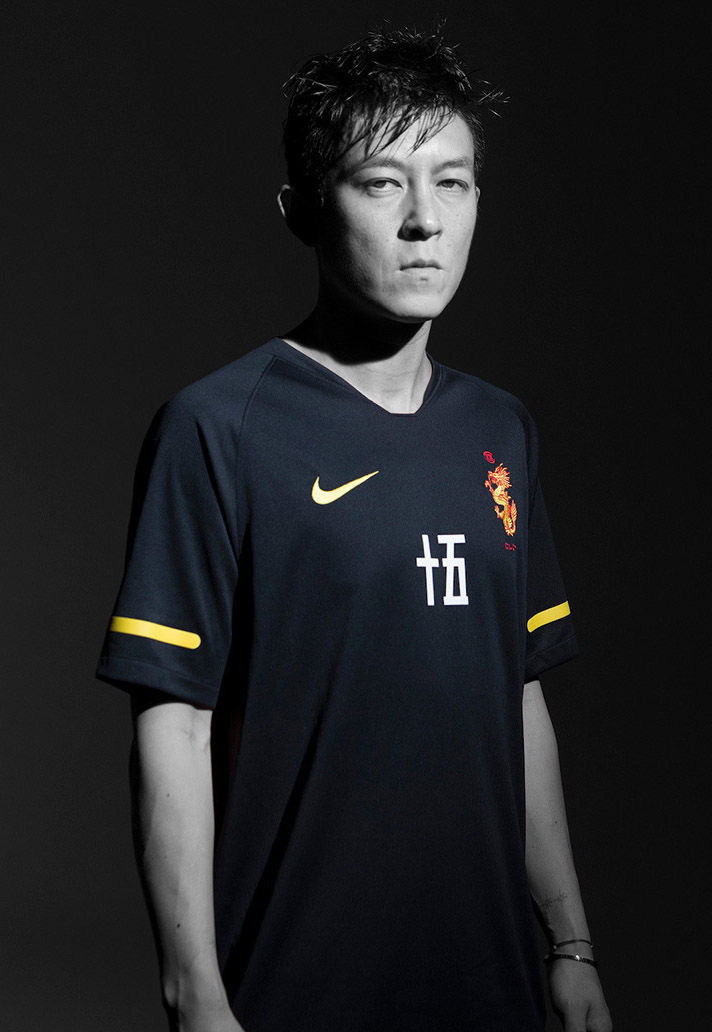 04e98c76217 The Chinese character for '15' sits on the front of the jersey to wrap up  the strong aesthetic. The latest brand making strides into a football  environment, ...