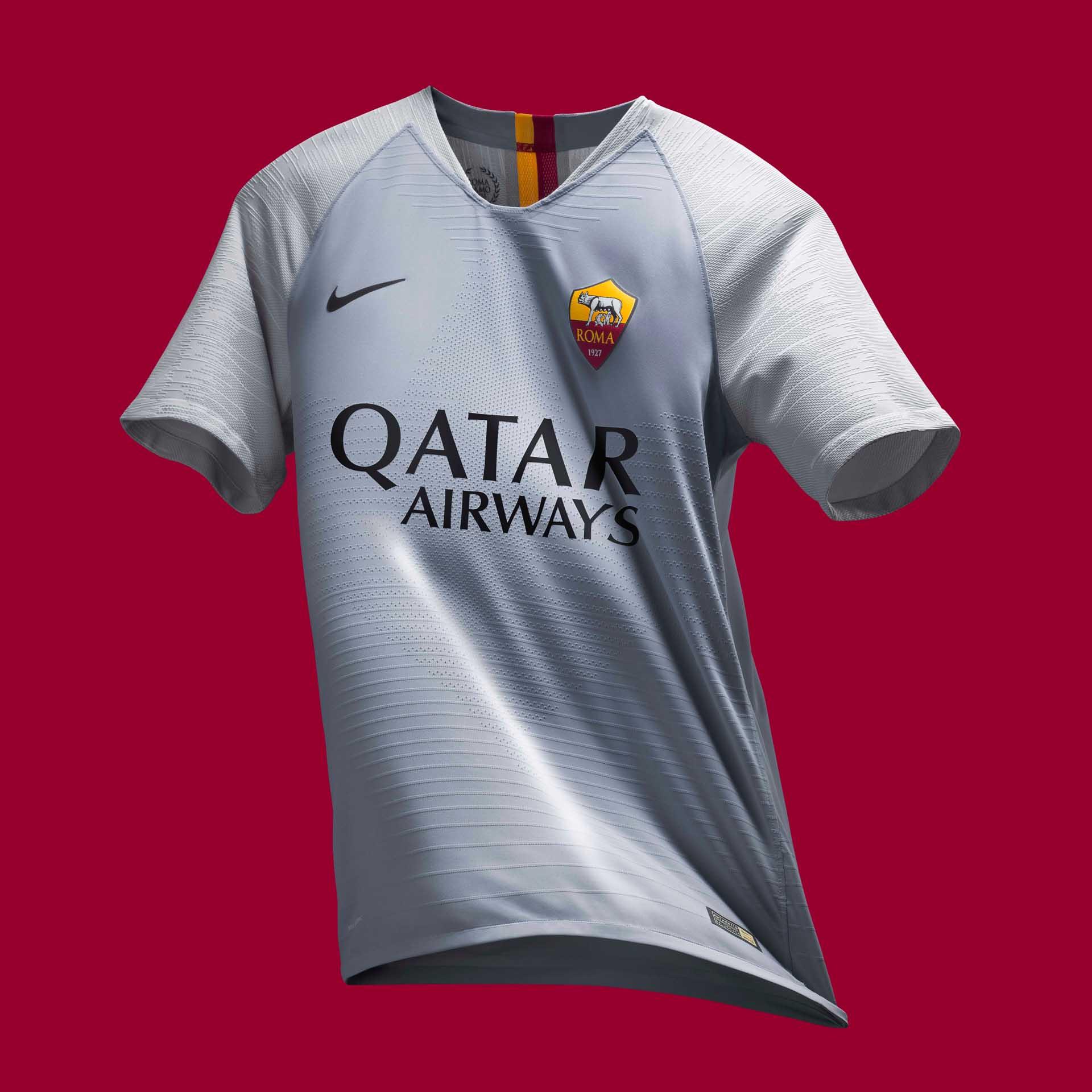 1a6e0ca26d5 Nike Launch Roma 2018 19 Away Shirt - SoccerBible