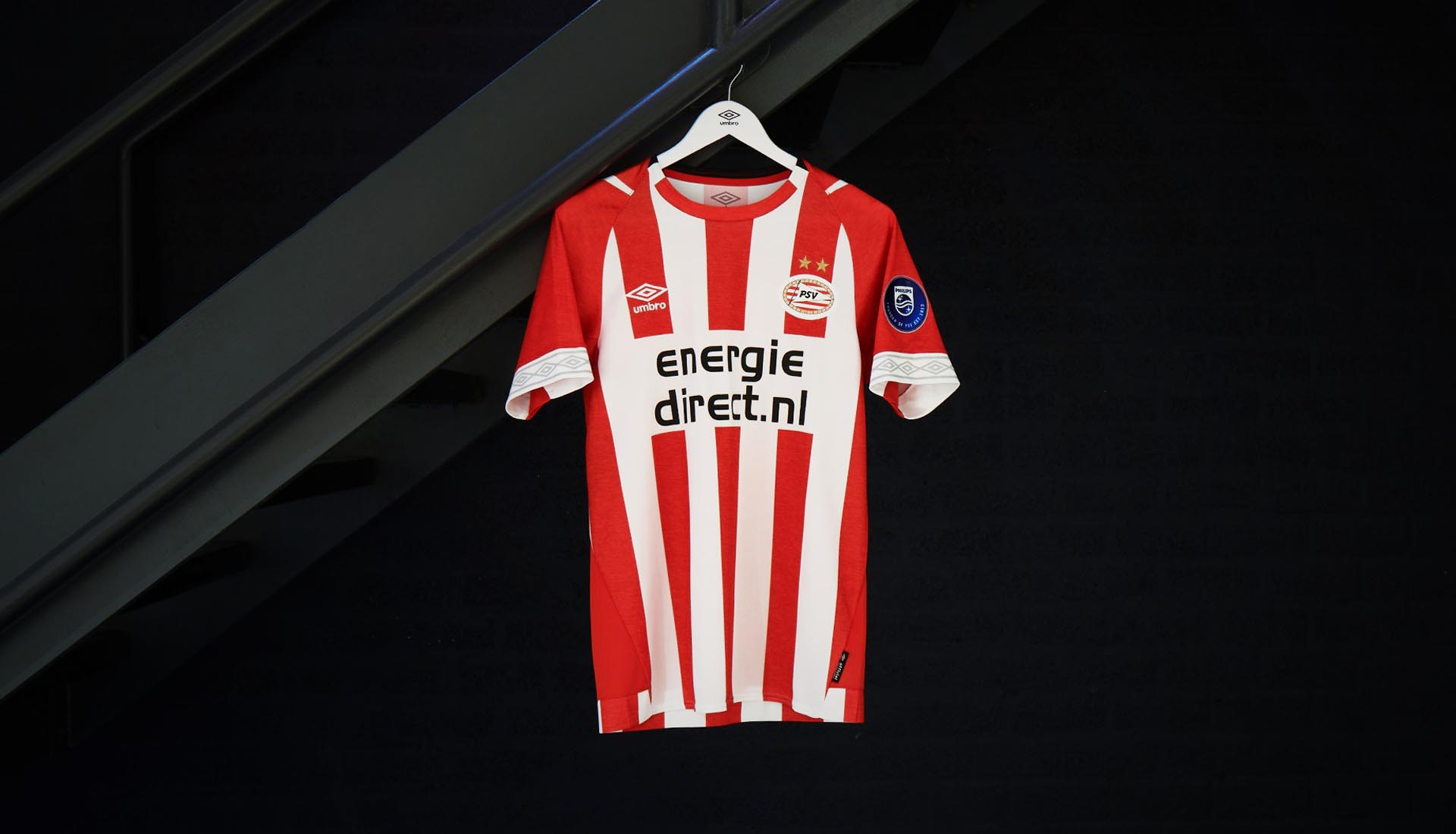 e2b8ae36c76 Umbro Launch PSV 2018/19 Home Shirt - SoccerBible