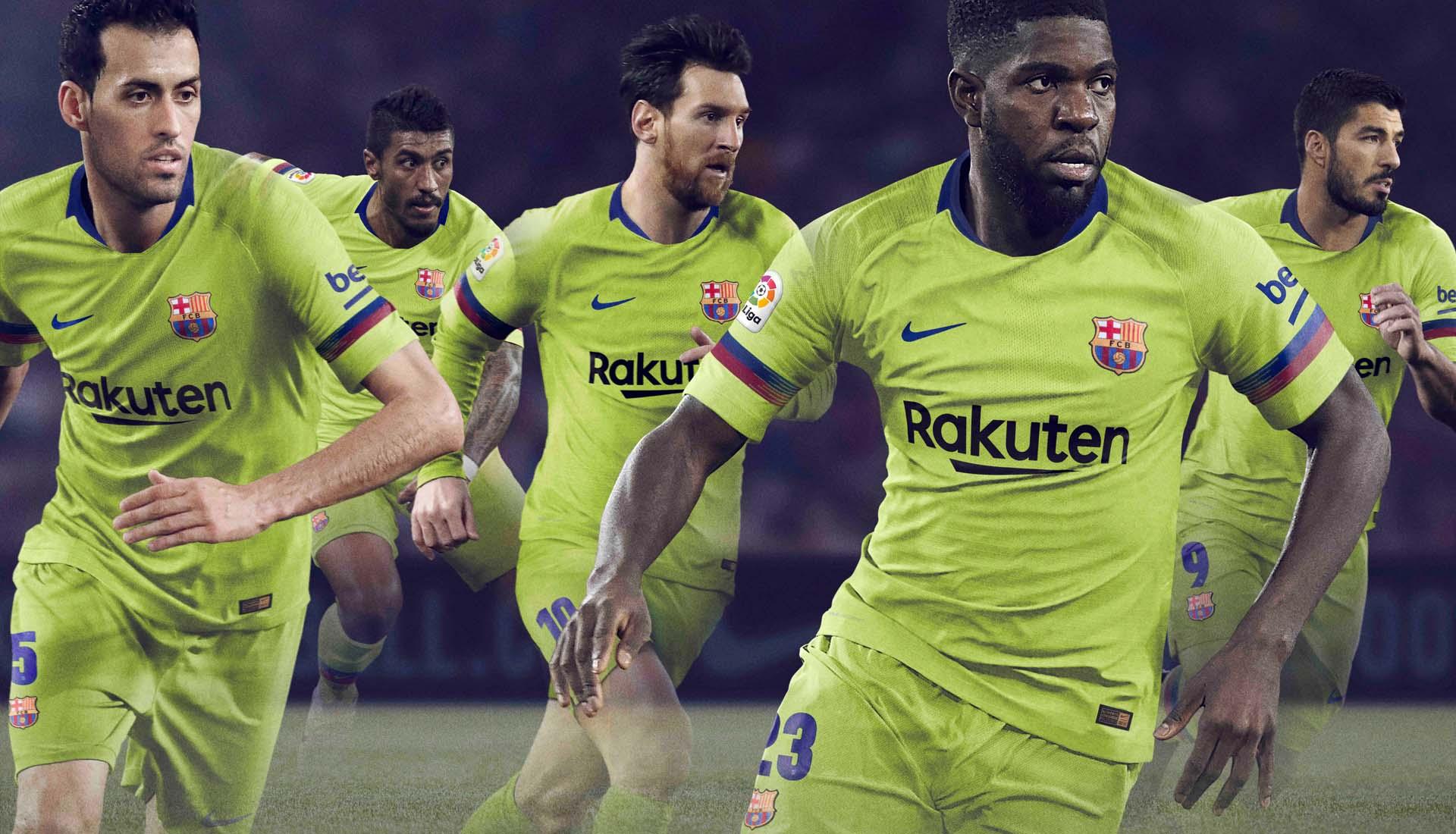 46629e4652 Nike Launch Barcelona 2018 19 Away Shirt - SoccerBible