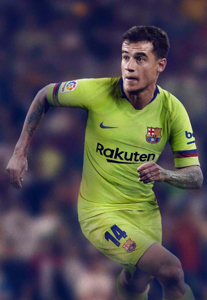 b94f89bc6a6 Nike Launch Barcelona 2018 19 Away Shirt - SoccerBible