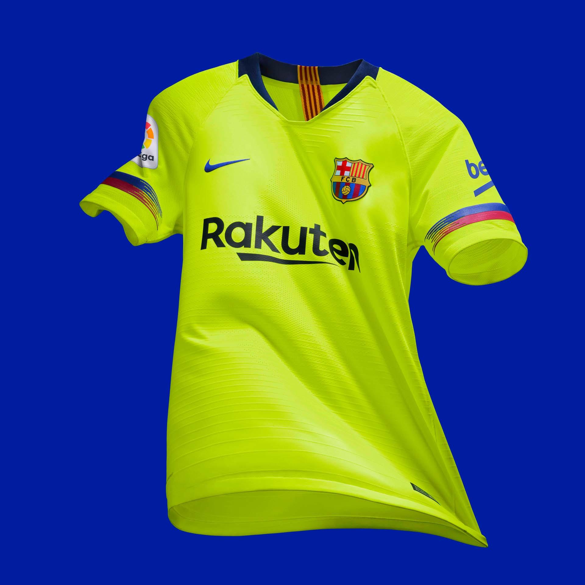 f5fdb8428 Nike Launch Barcelona 2018 19 Away Shirt - SoccerBible