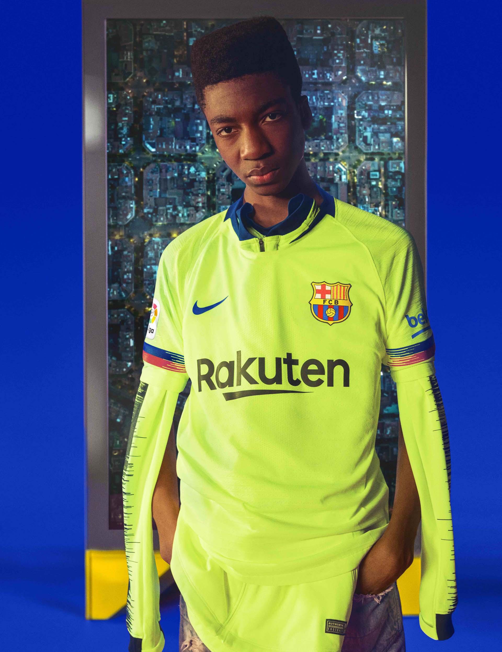 Nike Launch Barcelona 2018 19 Away Shirt Soccerbible
