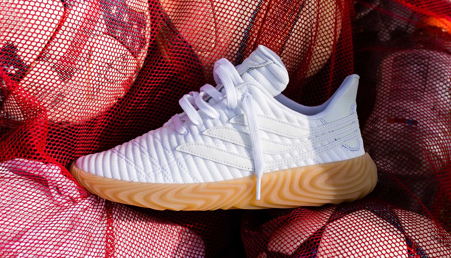 online store b2bce eabed adidas Drop The Sobakov Sneaker in White - SoccerBible.