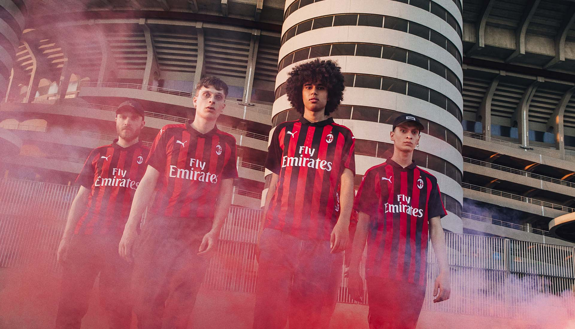 detailed look 5da0b d6790 PUMA Launch AC Milan 18/19 Home Shirt - SoccerBible