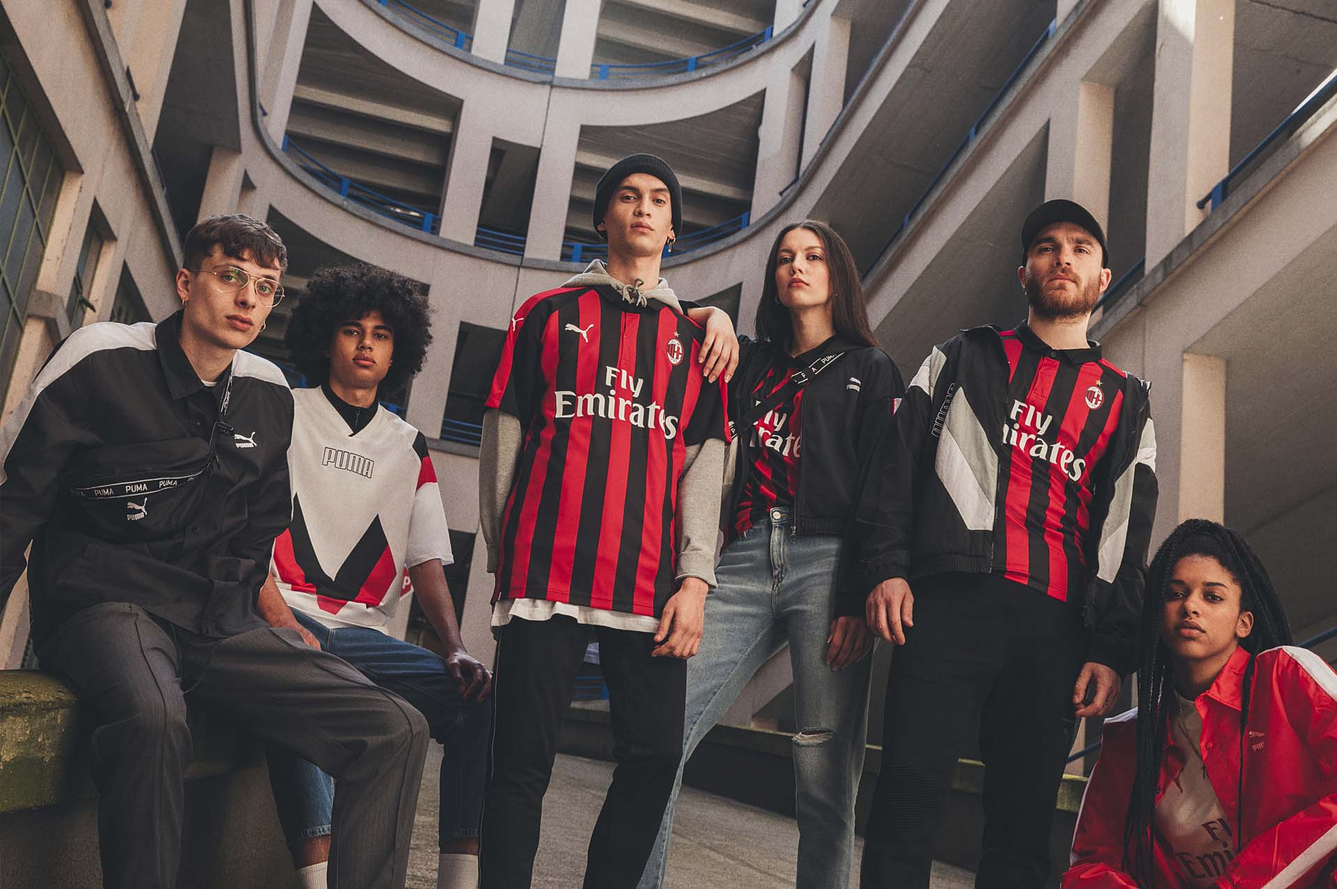 d8b67ba0dcd PUMA Launch AC Milan 18 19 Home Shirt - SoccerBible