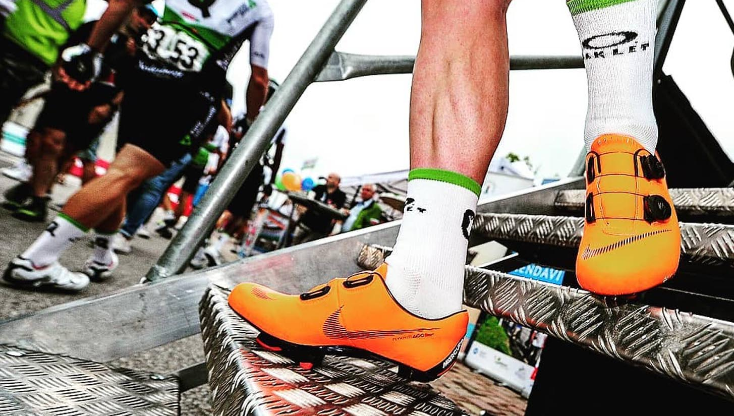 1a85e8fb7 Mark Cavendish Receives Nike Mercurial Superfly 360 R9 Cycling Shoes -  SoccerBible.