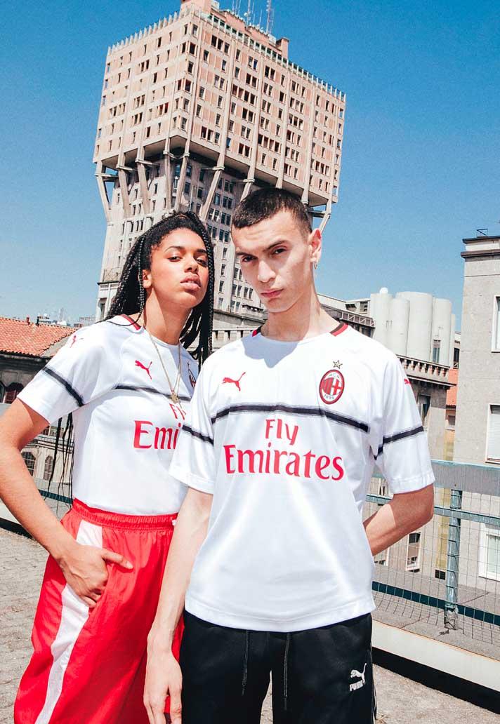 7d26885dc90 PUMA Launch The AC Milan 18 19 Third Shirt - SoccerBible