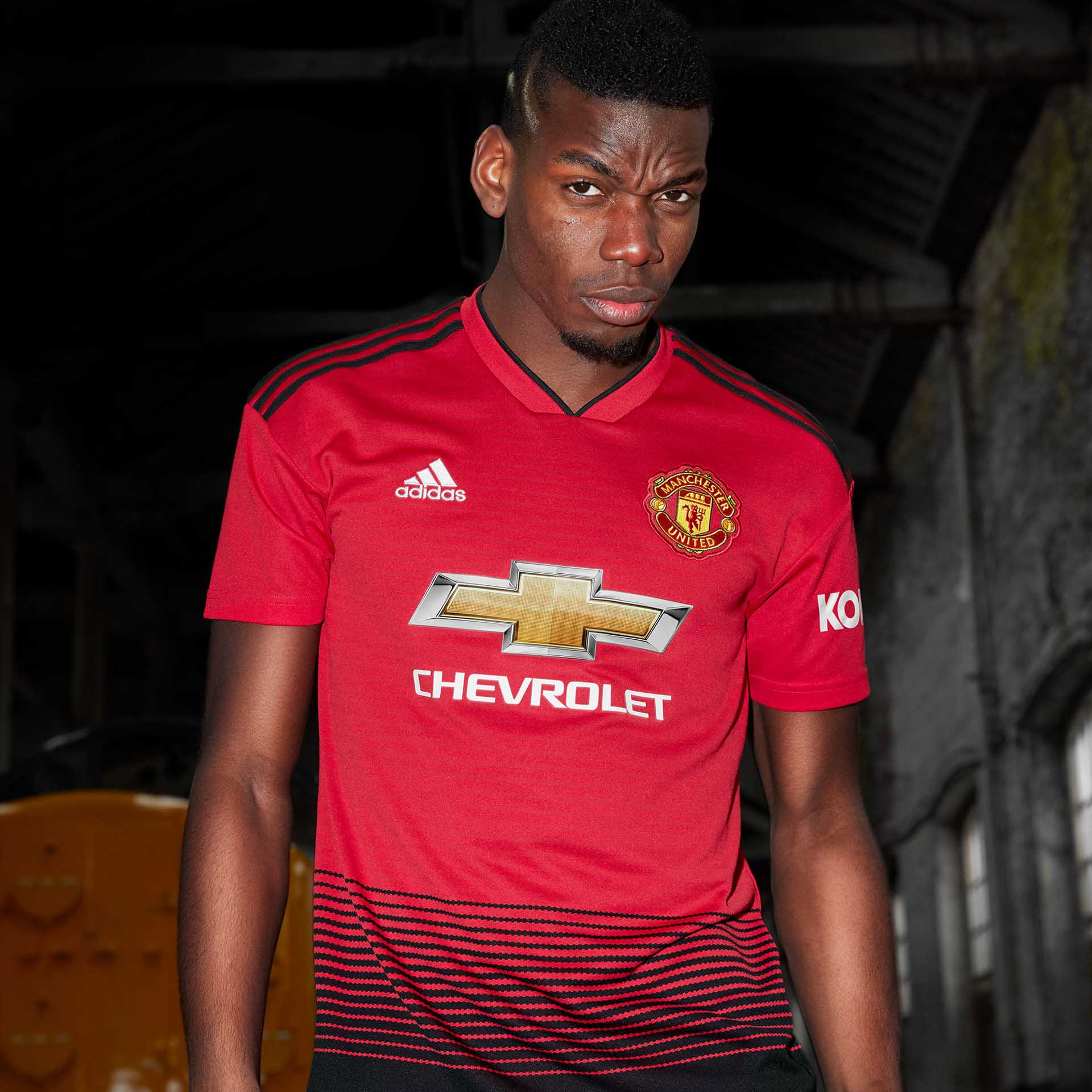 409943967 adidas Launch The Manchester United 18 19 Home Shirt - SoccerBible.