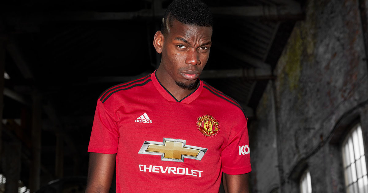 09206d8af adidas Launch The Manchester United 18 19 Home Shirt - SoccerBible.