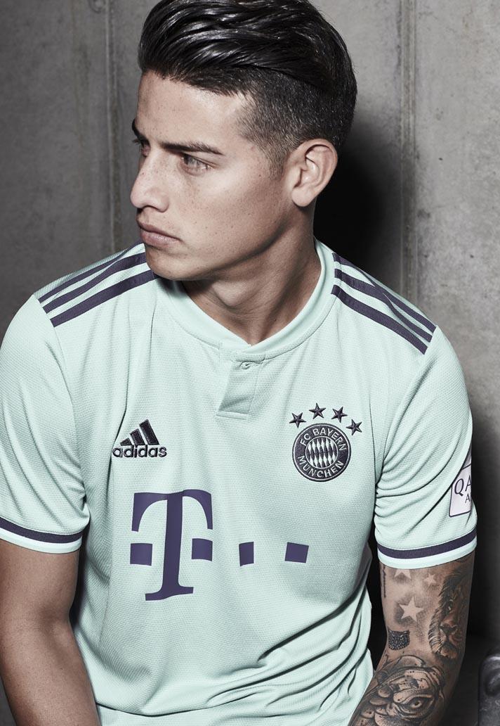adidas Launch Bayern Munich 2018 19 Away Shirt - SoccerBible b1eb40829