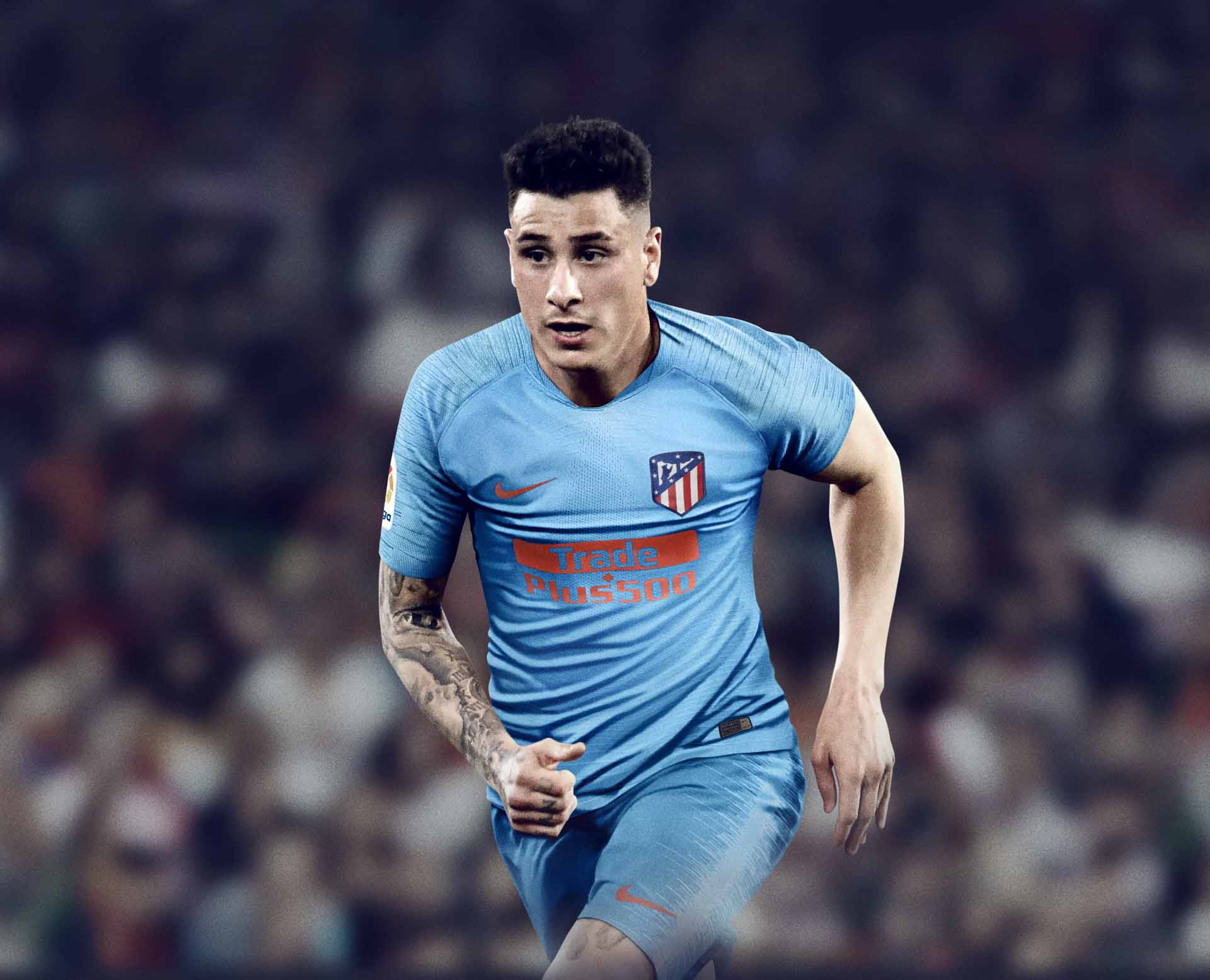 new product 9906e 62182 Nike Launch Atletico Madrid 18/19 Away Shirt - SoccerBible