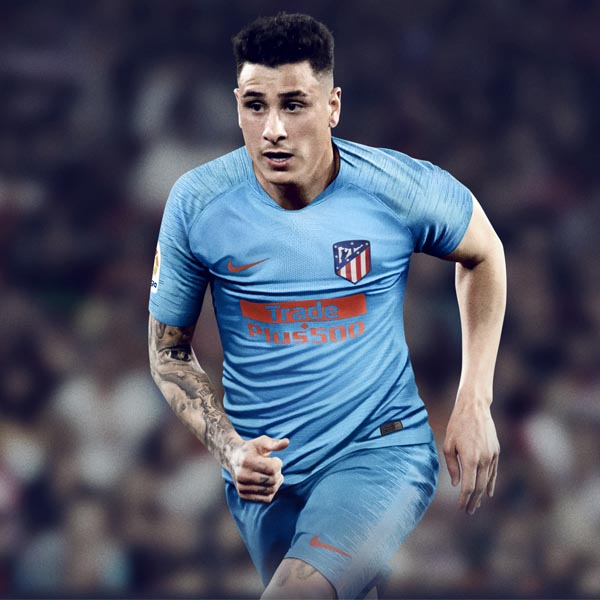 Nike Launch Atletico Madrid 21 22 Home Shirt Soccerbible