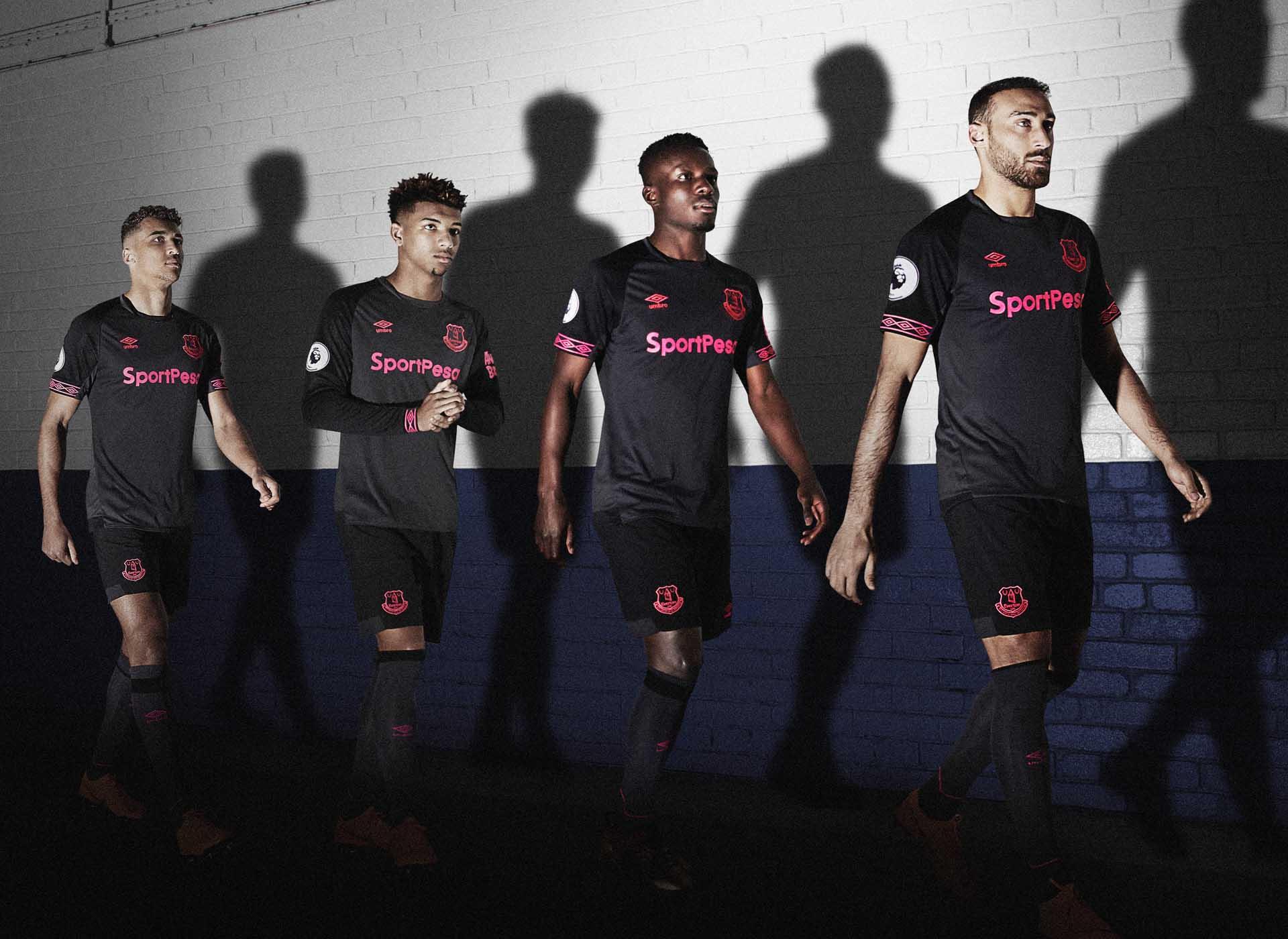 33c11626709 Umbro Launch Everton 18/19 Away Shirt - SoccerBible
