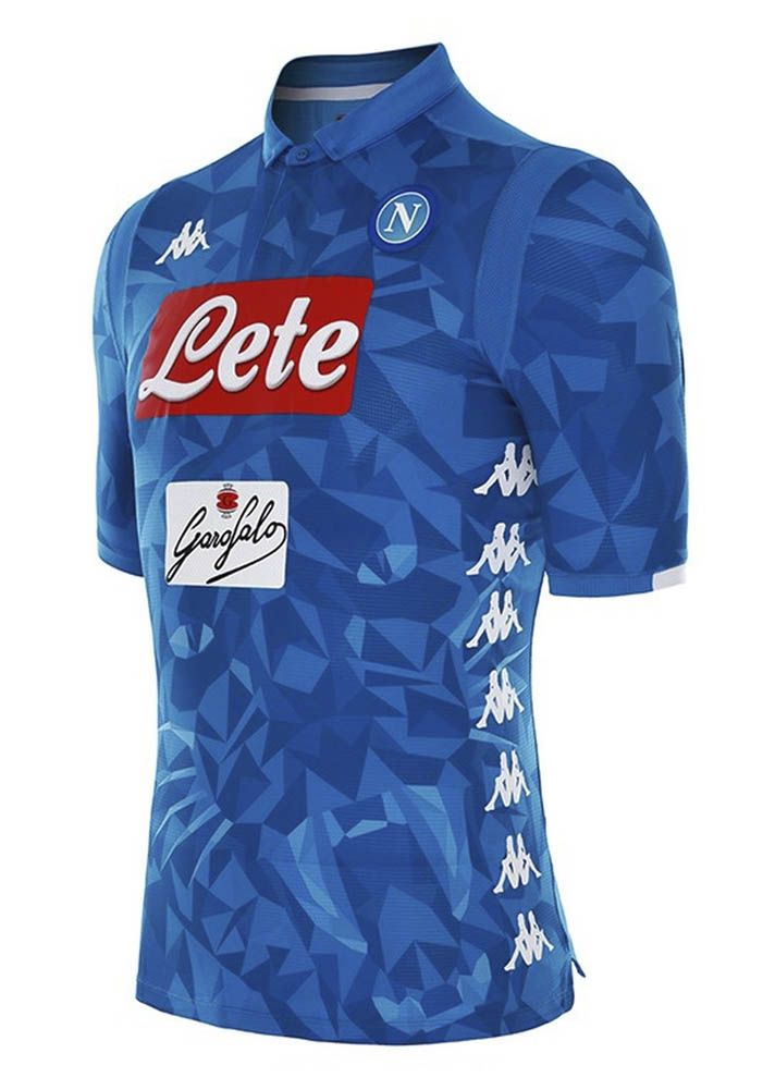 Kappa Launch The Napoli 2018 19 Home Shirt - SoccerBible 0761d0df1