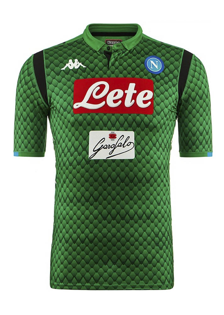 13aaa7f40 Kappa Launch The Napoli 2018 19 Home Shirt - SoccerBible