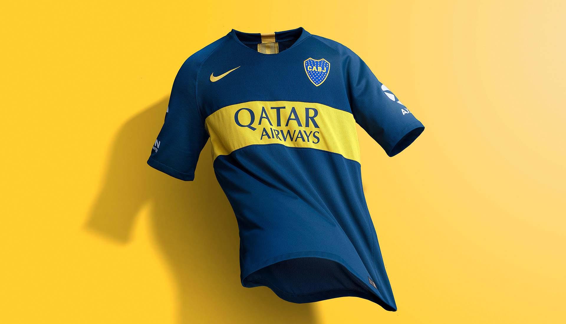 finest selection e70cc 97a30 Nike Launch Boca Juniors 18/19 Home & Away Kits - SoccerBible