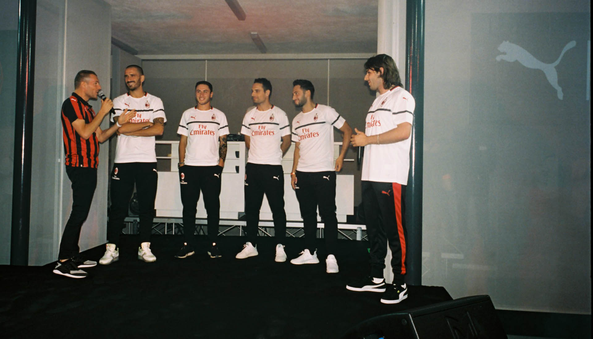 e707329bee6 AC Milan Launch 2018 19 Kits at Special Event With Puma - SoccerBible.