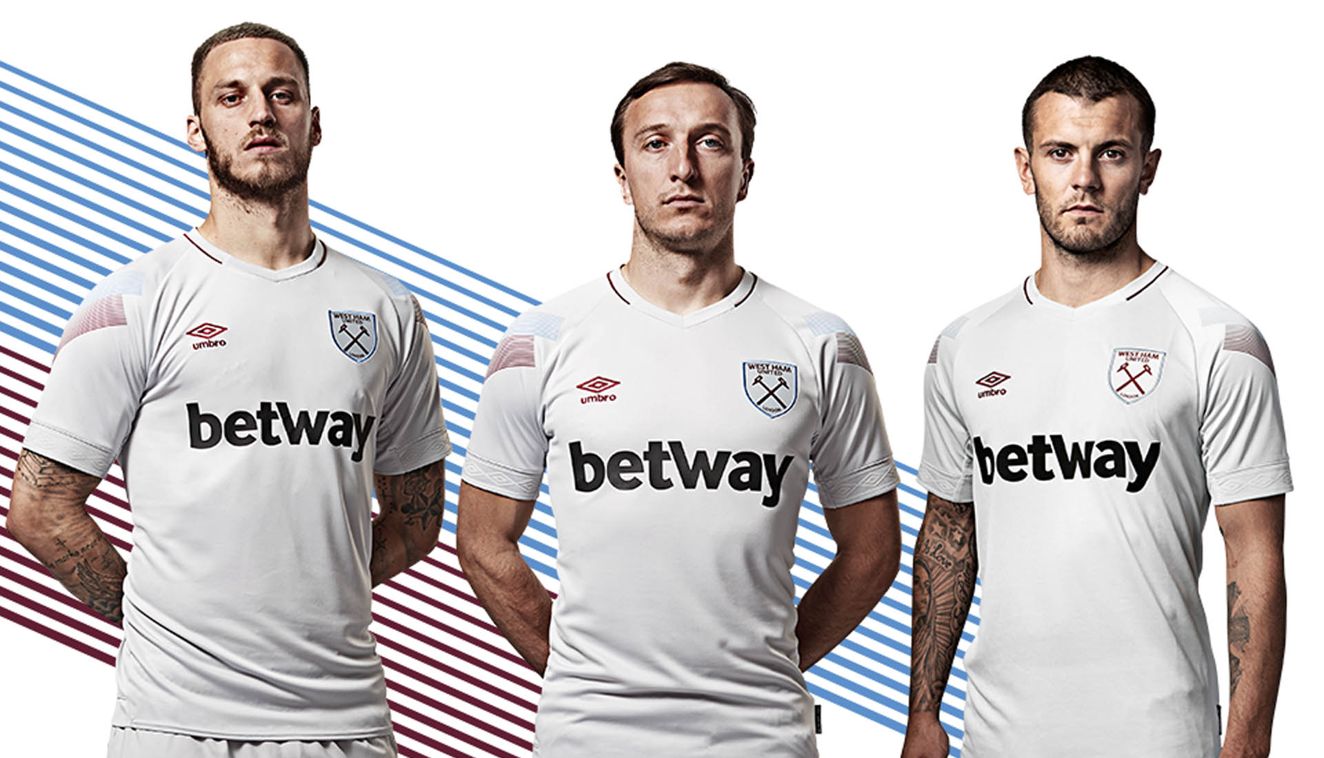 7fc15174c Umbro Launch the 2018/19 West Ham Utd Third Kit - SoccerBible