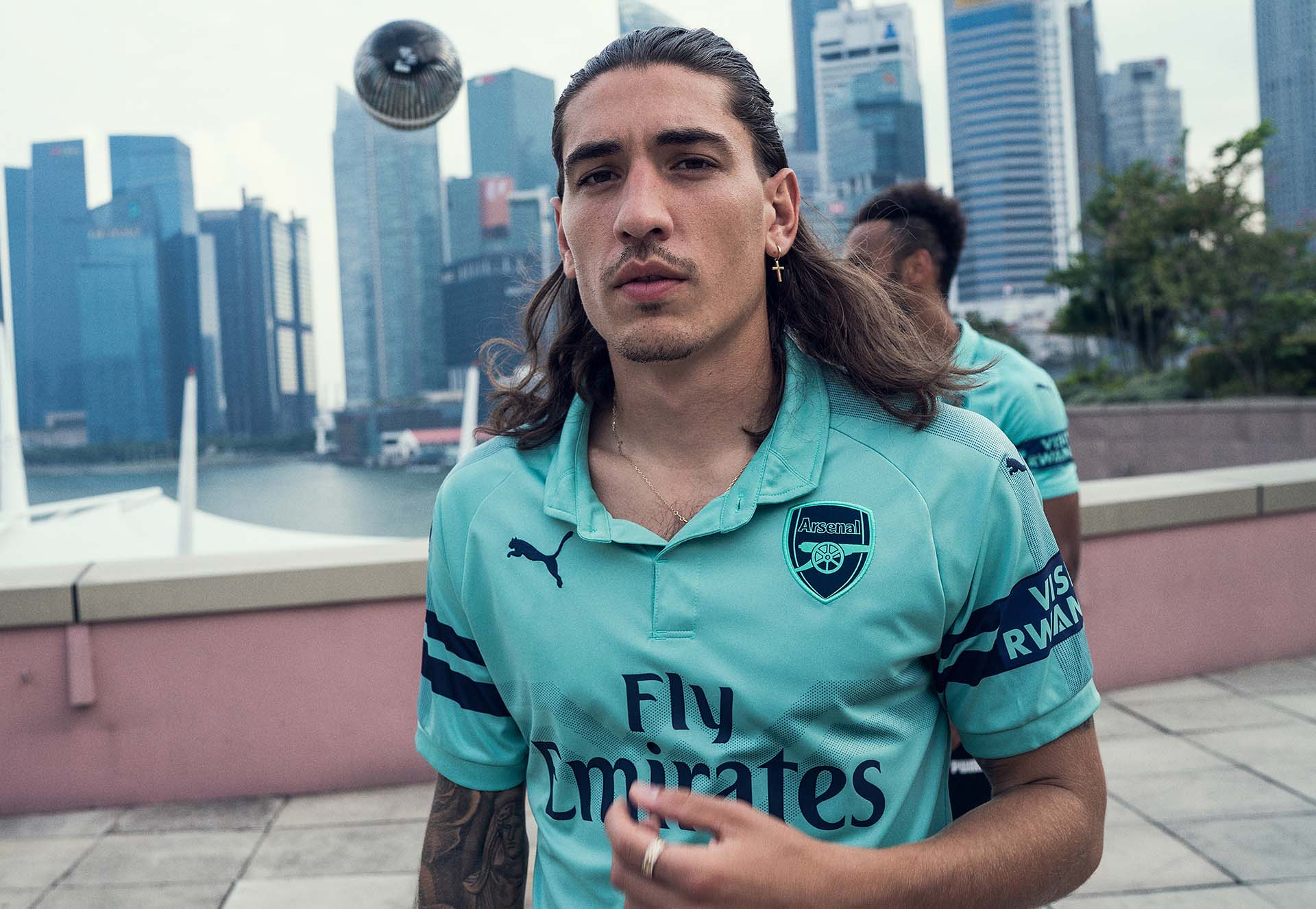 bdbaab23e PUMA Launch The Arsenal 18 19 Third Shirt - SoccerBible