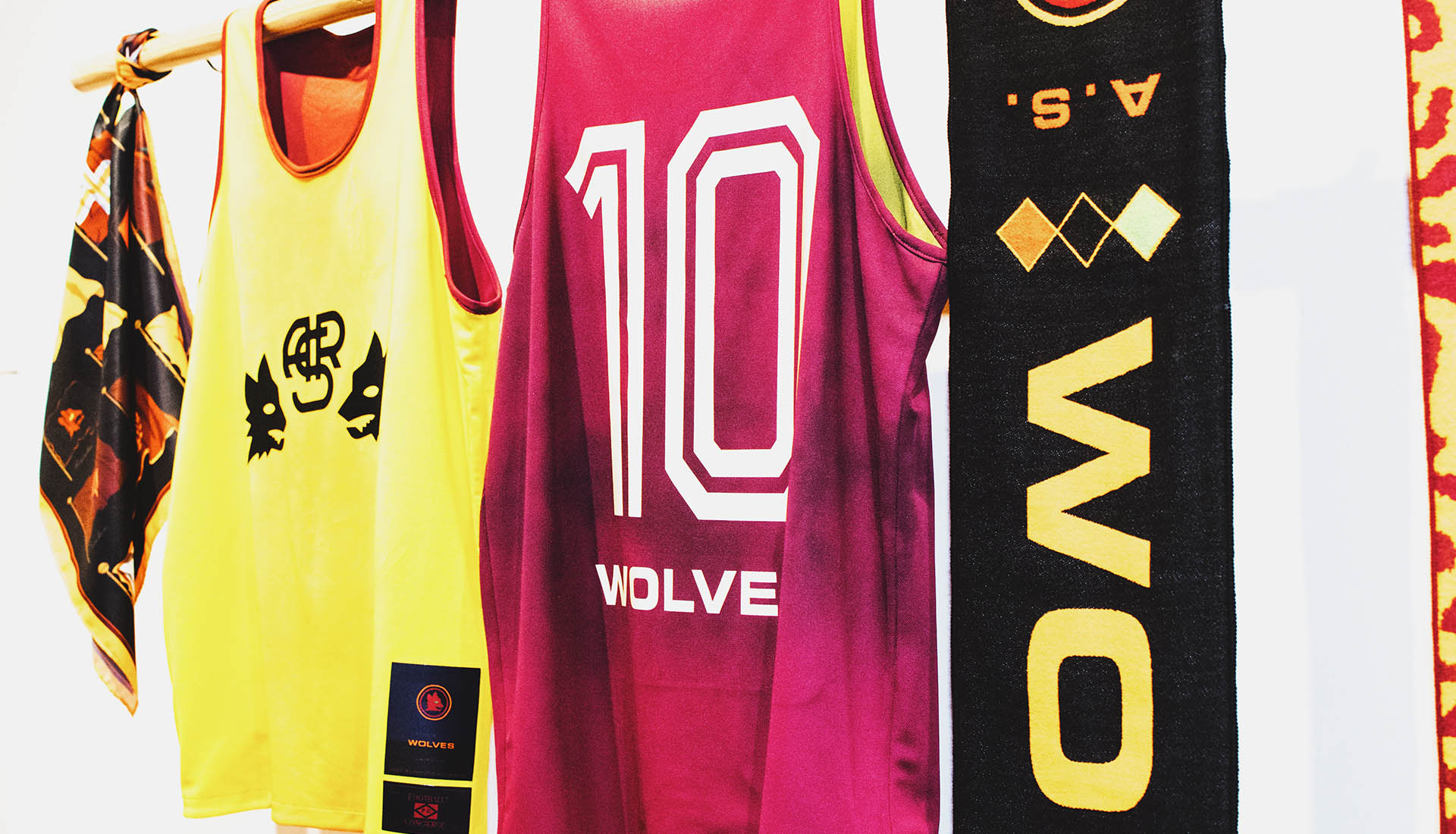 a9cd8098e Nowhere FC and A.S. Roma Collaborate for  A.S. Wolves  Collection ...