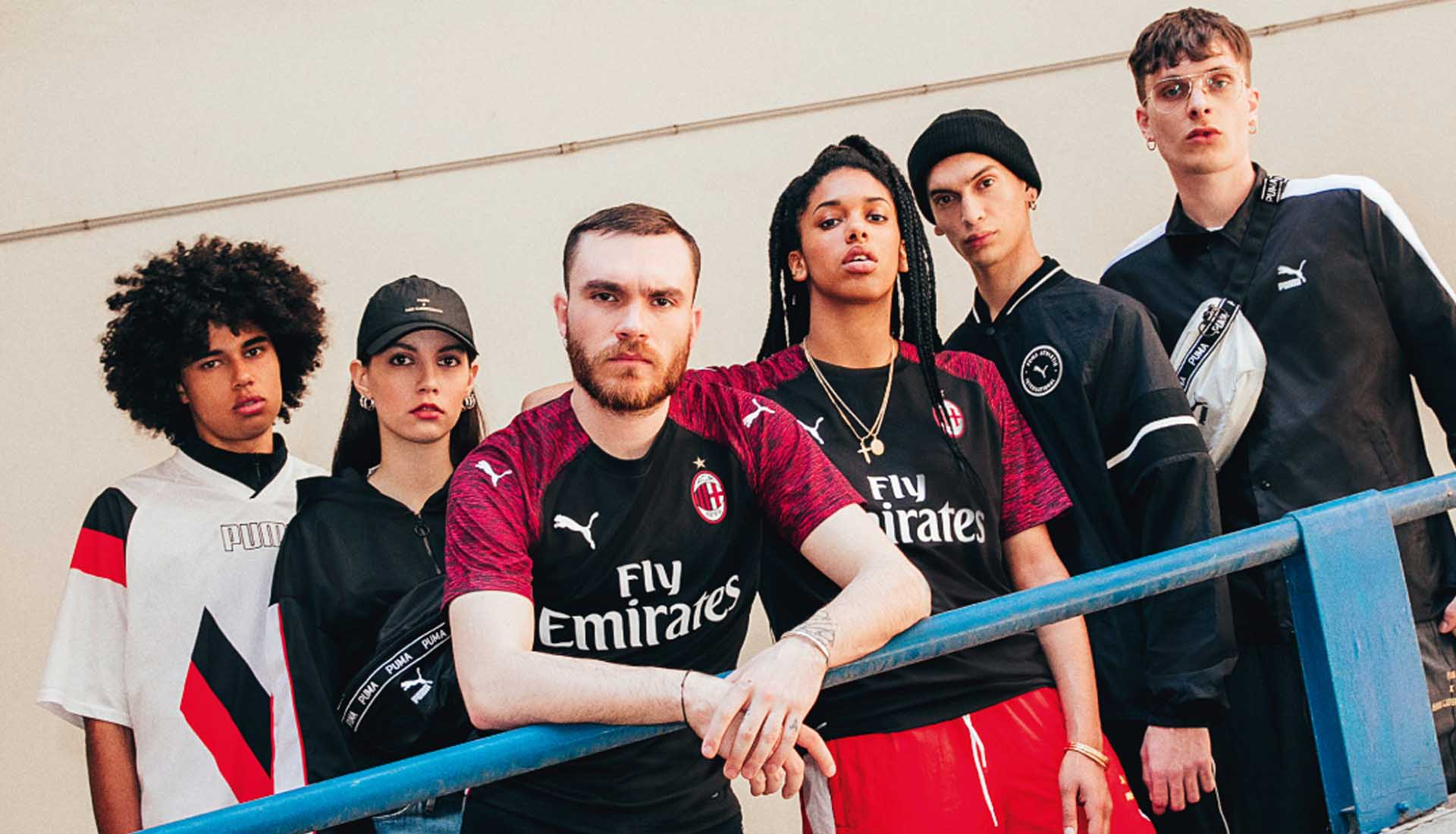 168cdde5f PUMA Launch The AC Milan 18 19 Third Shirt. 03 August 2018