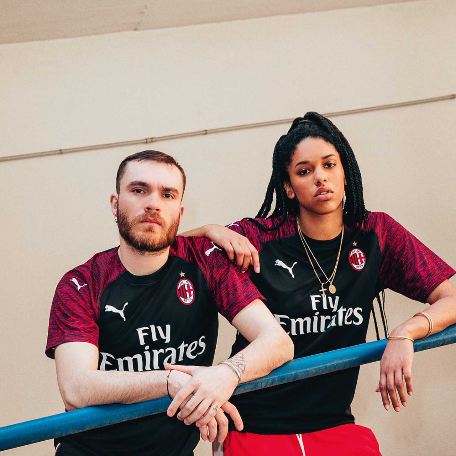 d88934596 PUMA Launch The AC Milan 18 19 Third Shirt - SoccerBible