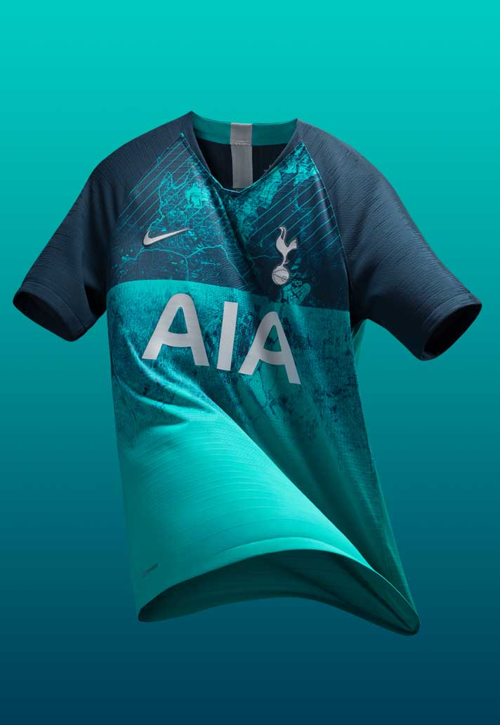 save off fb321 ddd31 Nike Launch Spurs 18/19 Third Shirt - SoccerBible