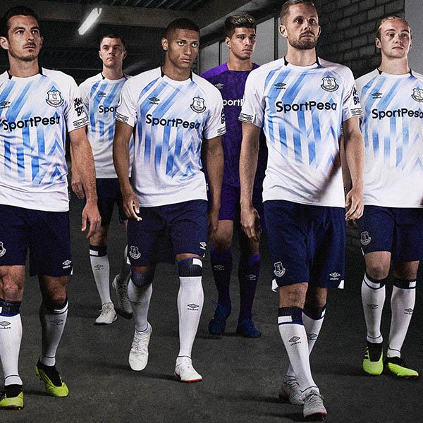 d6d8a6095e5 Umbro Launch 18/19 Everton Home Kit - SoccerBible