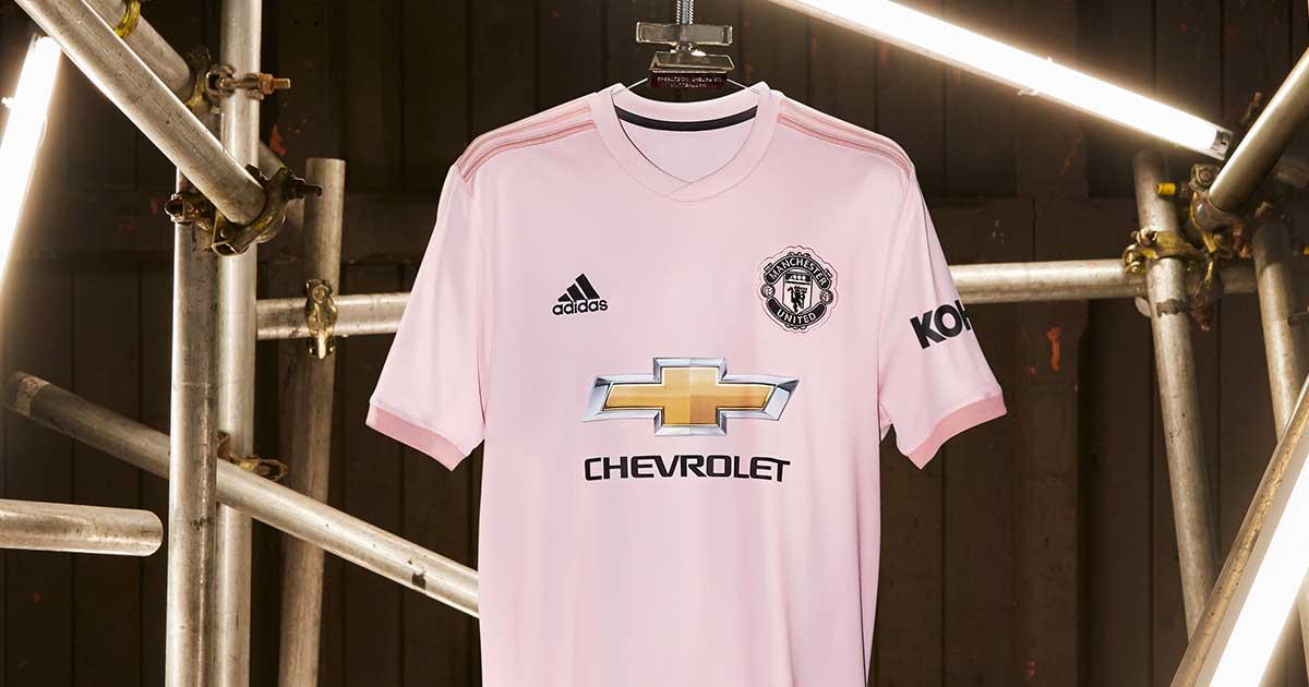 Adidas Launch The Manchester United 18 19 Pink Away Kit Soccerbible