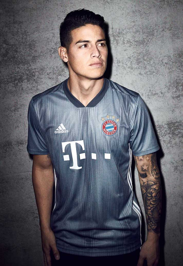 brand new 42ccc 6ec15 adidas & Parley Launch The Bayern Munich 18/19 Third Kit ...